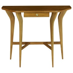 Stylish Midcentury Italian Console Table