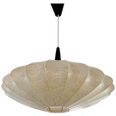 Achille Castiglioni Losange Cocoon Chandelier Pendant Lamp, Midcentury Design