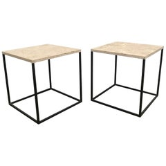 Pair of 1960s French Side Tables