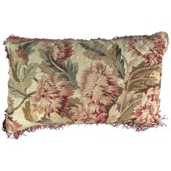 18th Century French Tapestry Cushion
