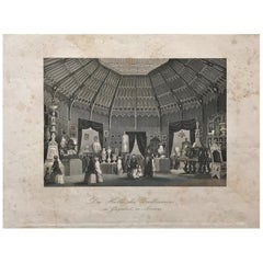 Crystal Palace in London or Glaspalast Zu London, Anonymous, circa 1851