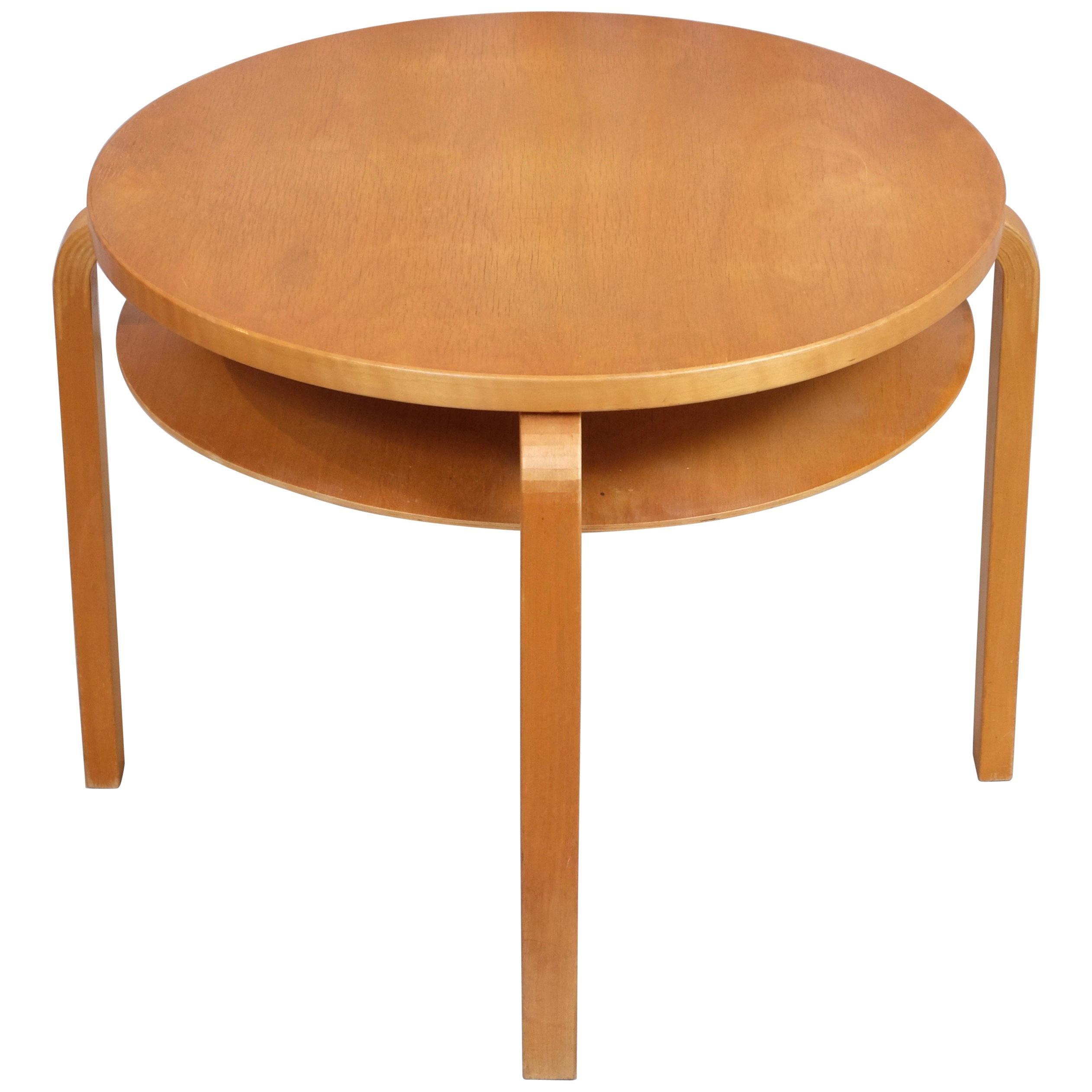 Rare Alvar Aalto Table 907 Produced by Artek, 1940s