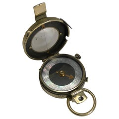 WW1 1918 British Army Officer's Compass, Verner's Patent MK VIII by E. Koehn