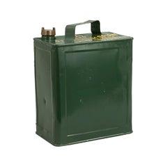 Vintage Army Metal Petrol Can