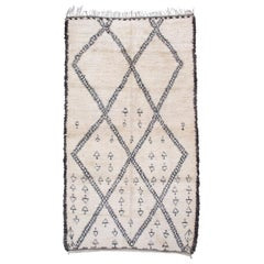 Large Beni Ouarain / Marmoucha Berber Carpet