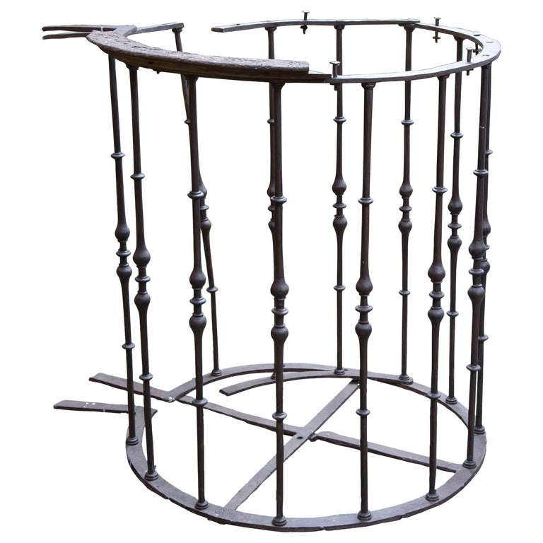 Wrought Iron Pulpit Grille, 18th Century For Sale at 1stdibs
