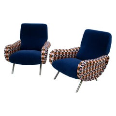 Marco Zanuso Mid-Century Modern Lady Italian Armchairs