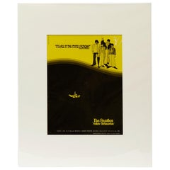Beatles Yellow Submarine Memorabilia, 1968 / Movie Ad Art Transparency