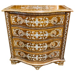 Early 20th Century Syrian Mother of Pearl Inlaid Chest