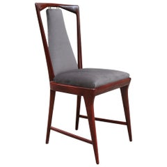 Set of Six Dining Chairs by Osvaldo Borsani