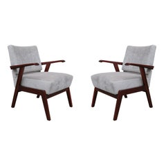Pair of Italian Midcentury Armchairs