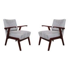 Pair of Italian Midcentury Armchairs