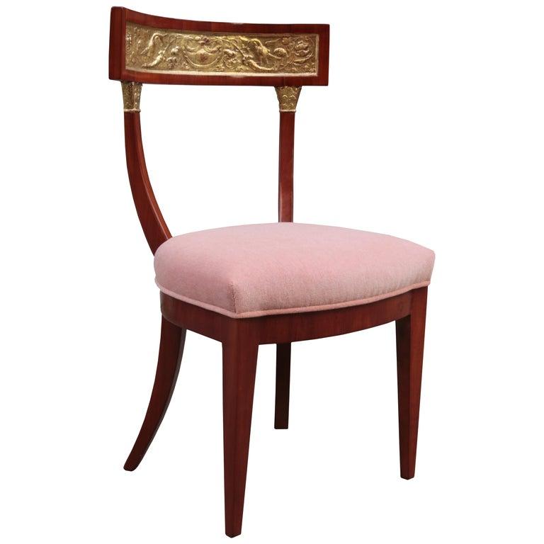 Fine Biedermeier Side Chair For Sale