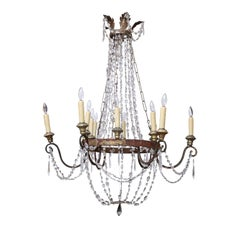 Italian Empire Chandelier from Lucca