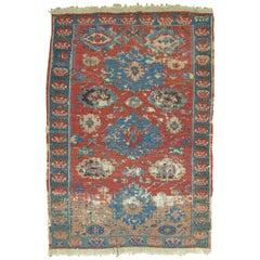 Antique Caucasian Soumac Rug