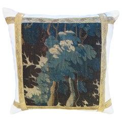 18th Century Verdure Tapestry Pillow