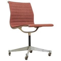 Vintage Midcentury Eames for Herman Miller Aluminum Group Side Office Chair