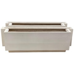 Pair of 21st Century Bac A Oranger Garden Planter Box For