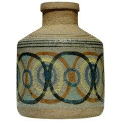 1960s by Antonio Salvador Orodea ASO Valdemorillo Ceramic Vase