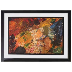 "Painting by Pierre Ambrogiani, ""Ecole Provençale"""