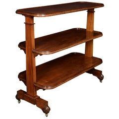 Late 19th Century Mahogany Buffet or Drinks Trolley