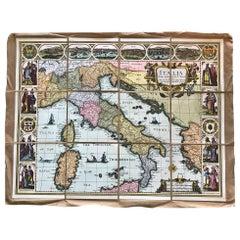 Italy, Italia Map, by John Speed, Faksimilie, 1626/ 2013