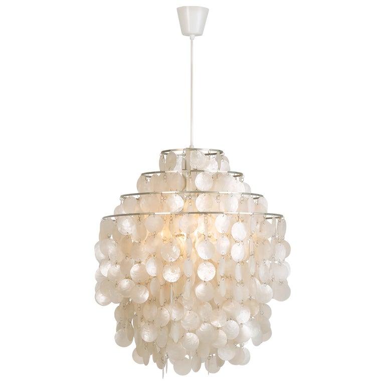 Verner Panton Fun 0DM ceiling lamp, 1960s, offered by Okay Art