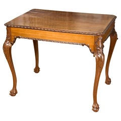 Writing Table, Mahogany, 19th Century