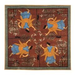 Dalle Gioie Degli Etruschi N. 4 Rug by Linde Burkhardt