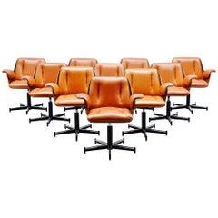 Carlo Fongaro Probjeto Office Chairs, Brazil, 1975