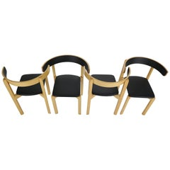 Set of 4 Dining Room Chairs by Jørgen Gammelgaard for Schiang Møbler, Denmark