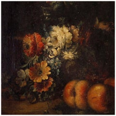 20th Century Oil on Canvas French Still Life Painting, 1920