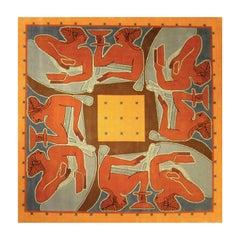 Etrusco Convivium Rug by Linde Burkhardt