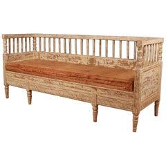Original Painted Swedish Sofa