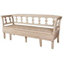 Swedish Painted Bench