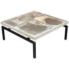 Brutalist Coffee Table by Paul Kingma, 1960s
