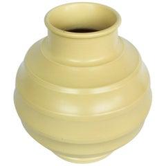 Art Deco 'Football' Vase
