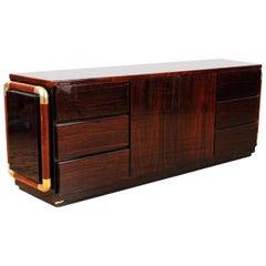 Mid-Century Modern Rosewood Credenza/Sideboard, Italian, circa 1970
