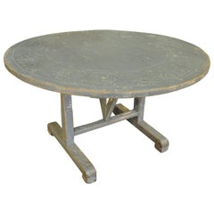 French 19th Century Table Vigneron - Wine Tasting Table