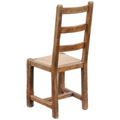 Sculptural High Back Chairs, 1940