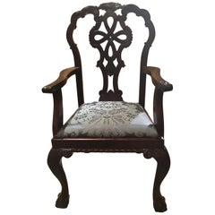 Set of 12 Mahogany Dining Chairs in George III Style