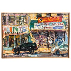 Noisy New York City Essex Street Painting