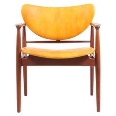 NV48 Armchair by Finn Juhl for Cabinetmaker Niels Vodder