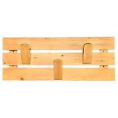 Charlotte Perriand Pine Coat Rack from Les Arcs