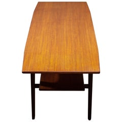 Danish Modern Teak Coffee Table, 1960s