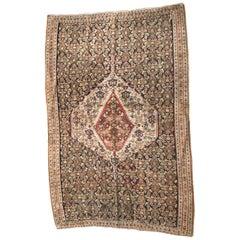 Antique Fine Senneh Style Kilim