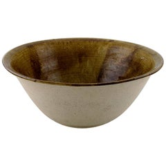 Ivy Lysdal, Danish Ceramist and Painter, Large Unique Bowl