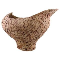 Ivy Lysdal, Danish Ceramist and Painter, Large Unique Vase