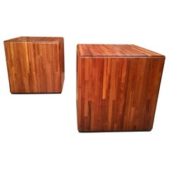 Lou Hodges Cube Tables for California Design Group