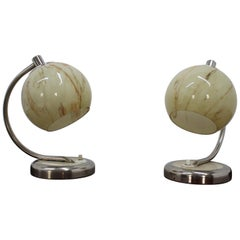 Pair of Table Lamps, 1950s